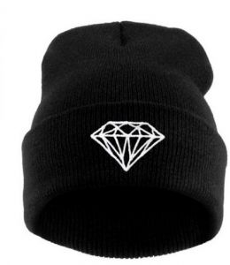 cdef1c76c60 Black Wool Beanie   Bobble Hat For Unisex