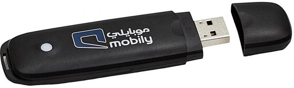 Mobily 3G Connect by Zte , up to 21Mbps Speed , Black