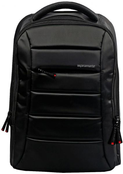 Promate Lightweight 15.6 inch Laptop Backpack Bag with Multiple Storage  Options,BizPak BP - Black 30024fa8d6