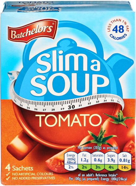 Slim with soup