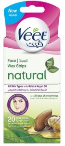 Veet Wax Strips Face 20s Buy Online Health And Personal Care At Best Prices In Egypt Souq Com