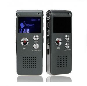 Voice Recorder 8GB Mini USB Flash Digital Audio 650Hr Dictaphone MP3 P...