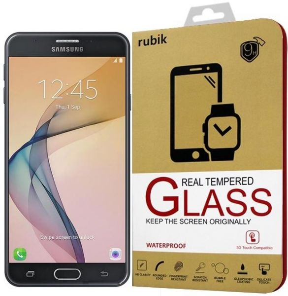 For Galaxy J7 Prime - Rubik Real Tempered Glass Saphire HD Screen Protector  For Samsung Galaxy J7 Prime