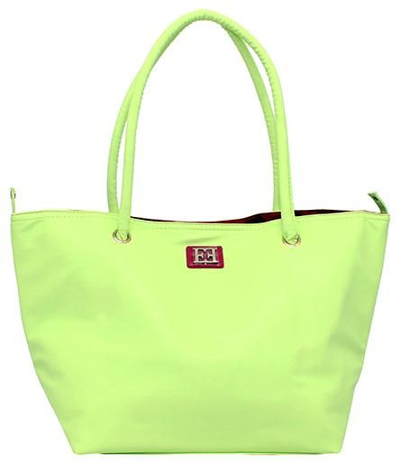 Escada Polyurethane Bag For Women Green Tote Bags