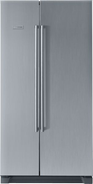 siemens side by ka56nv40ne 540 liters refrigerator silver kuhlschrank test