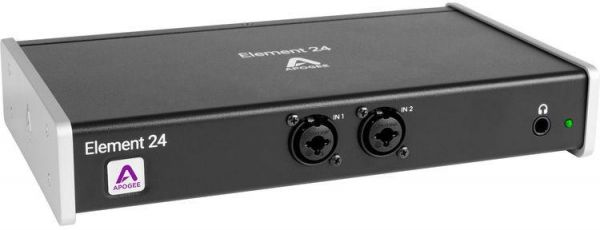Apogee Electronics Element 24 - 10x12 Thunderbolt Audio I/O Box for Mac