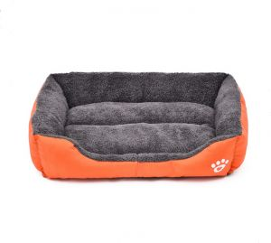 L Size Candy Color Square Kennel House Eco Friendly Dog Bed Mat Sofa Pets Beds For Various Dogs Supplies