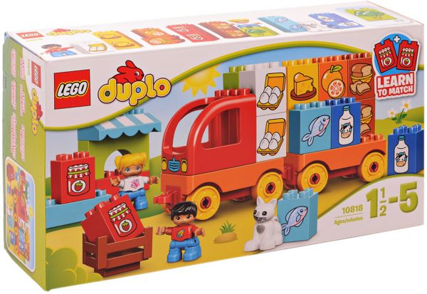 Souq | Lego Duplo Grocery Vehicle Learn to Match Construction ...