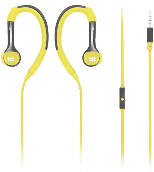 3fd1716e43c Promate In-Ear Headphones, Adjustable Over-Ear In-Ear Wired Earphones with