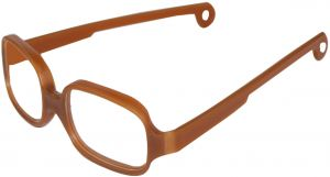 048502dc1df1 Solo Bambini Square Unisex Frame - Toddler - 40-15-118mm, Root Beer