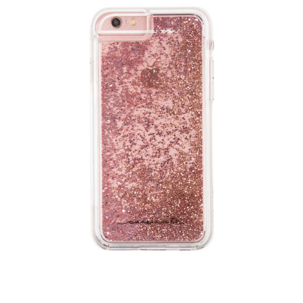 Case-Mate Waterfall Cascading Liquid Glitter Protective Design for iPhone 7  Plus - Rose Gold  4a91df81ca