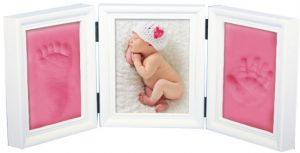 Sale on baby gift sets buy baby gift sets online at best price in keepsake new born baby gift handprint and footprint plaster kit set negle Choice Image