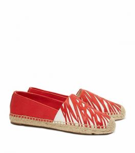 Tory Burch Red Espadrille For Women