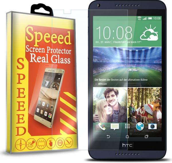 Speeed HD Glass Screen Protector for HTC Desire 816 - Clear