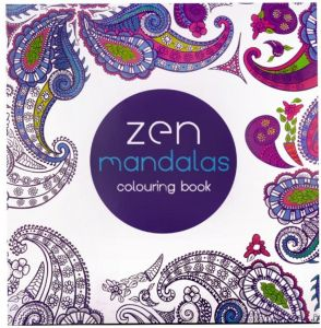 Zen Mandalas English Coloring Book This Childrens Gift