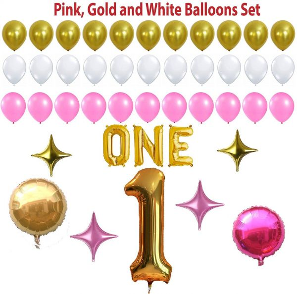 Souq Partymist 1St Birthday Party Balloon Kit Multi Color UAE