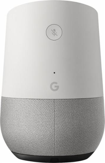 Google Home Wireless Voice Activated Speaker Whiteslate Fabric