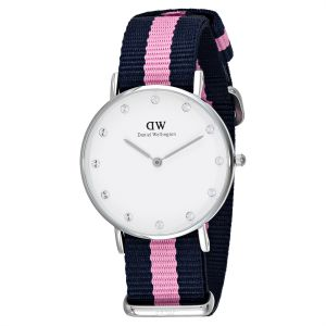 4bd93aa5e291 Daniel Wellington Classy Winchester Women s White Dial Nylon Band Watch -  0962DW