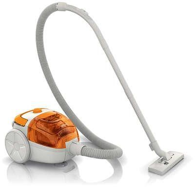 philips fc8085 canister vacuum cleaner orange - Canister Vacuum Reviews