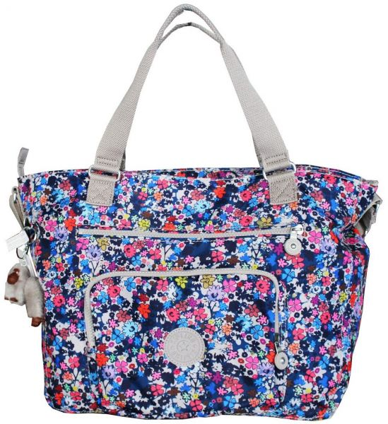 Kipling TM5439 MAXWELL PRINT TOTE BAG FOR WOMENS- MULTI COLOR  ab057a614a