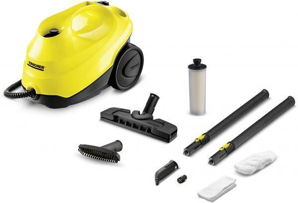 Superior Karcher SC 3 15130020 Steam Vacuum Cleaner, Yellow U0026 Black