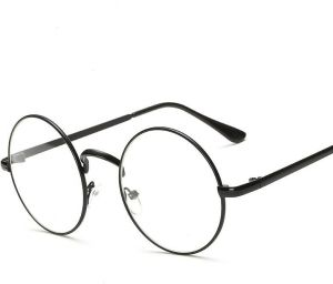 9f89173b4267 Retro Clear Lens Frames Glasses Vintage Round Full Metal Prince sunglasses