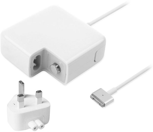 apple 45w magsafe 2 power adapter. magsafe 2 charger 45w replacement power adapter for macbook air, uk plug 14.85v, 3.05a [a1244] apple 45w magsafe