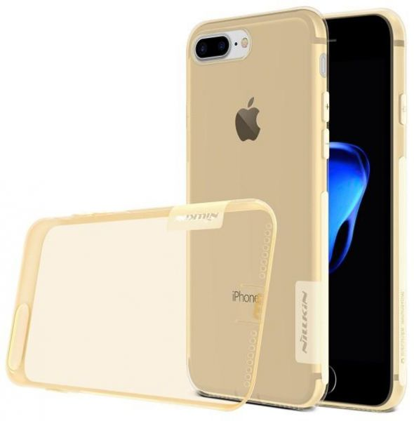 NILLKIN NATURE TPU BACK COVER FOR iphone 7 PLUS GOLD