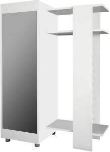 Magenta Home Magenta Home Hall Tree Cabinet, White   Mgnt108_1