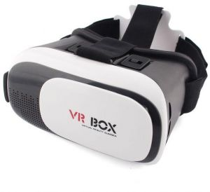 64418bea8385 VR BOX VR02 Upgraded Version Virtual Reality 3D glasses for smartphone-Black  and White