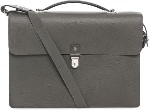 30b7f552d846 Dunhill L3W240Z L3M140Z Bourdon Laptop Bag with a Double Document Case for  Men - Black