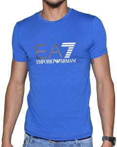 6aa50804b45 Sale on emporio armani green cotton round neck t shirt for men ...