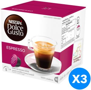 nescafe dolce gusto espresso coffee capsules 48 capsules. Black Bedroom Furniture Sets. Home Design Ideas