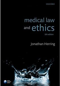 Medical Law and Ethics by Jonathan Herring - Paperback