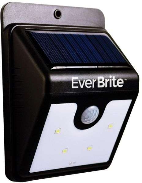 Souq Ever Brite Motion Activated Led Solar Light Black
