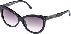 b2af2704590f Diesel Cat Eye Black Men s Sunglasses - DL0051-5603A - 56-14-140 mm