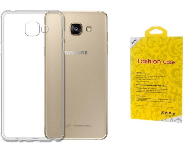 Samsung Galaxy J7 Prime Clear Fashion TPU Case Cover