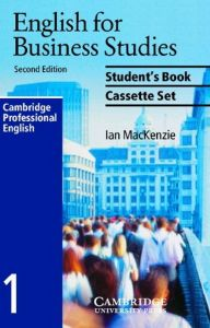 English For Business Studies: Audio Cassette Set (2 Cassettes) By Mackenzie, Ian