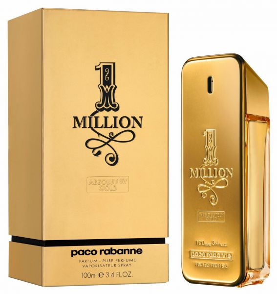 paco rabanne 1 million absolutely gold by paco rabanne for. Black Bedroom Furniture Sets. Home Design Ideas