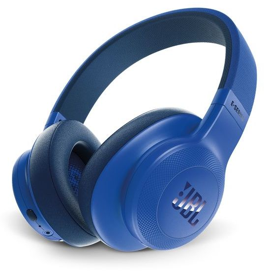 jbl on ear bluetooth headphones blue e55bt price review and buy in dubai abu dhabi and. Black Bedroom Furniture Sets. Home Design Ideas