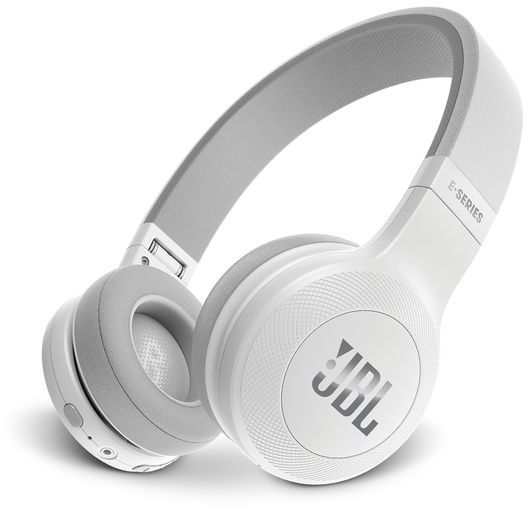 jbl on ear bluetooth headphones white e45bt price review and buy in dubai abu dhabi and. Black Bedroom Furniture Sets. Home Design Ideas