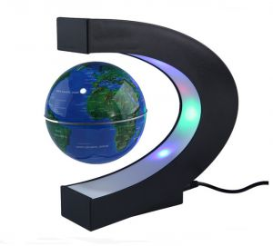 Sale on levitation anti gravity globe magnetic floating globe world c shape led world map floating globe tellurion magnetic levitation light antigravity magicnovel light home decor gumiabroncs Images