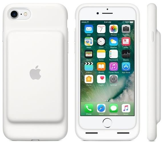 sports shoes 4fdab 080a8 Apple iPhone 7 Smart Battery Case - White