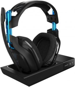 ce58d1f40d3 ASTRO A50 Wireless Dolby Gaming Headset - Black for PlayStation 4 and PC