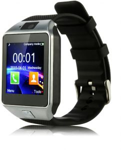 bec73d23999 ICOU All-in-1 Watch Cell Phone   Smart Watch Sync to Android IOS Smart Phone  (Silver)