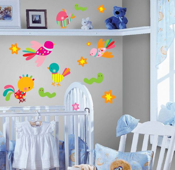 StickieArt Children Birds u0026 Insect Wall Decals - STA-158  sc 1 st  Souq.com : insect wall decals - www.pureclipart.com