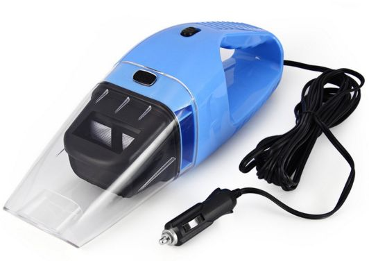 Large Suction 120w 12v Mini Car Wet Dry Portable Handheld Auto