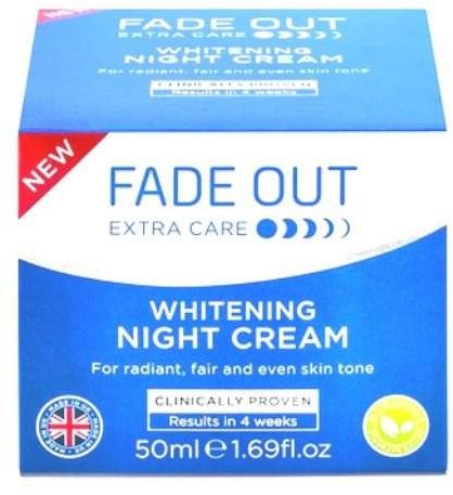 how to use fade out night cream
