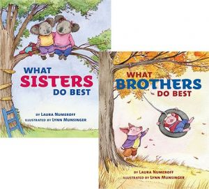 What Sisters Do Best/What Brothers Do Best by Lynn Munsinger, Laura Numeroff - Hardcover