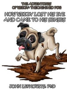 The Adventures of Weezy, the One-Eyed Pug: Book 1: How Weezy Lost His Eye and Came to His Senses by John Lefkowits Phd, Tea Seroya - Paperback